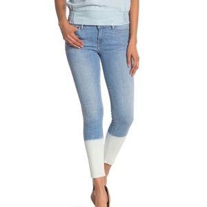 NWT Frame Denim Le Skinny De Jeanne Crop Jeans